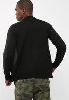 basicthread - Zip- through knit bomber