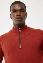 basicthread - 1/4 Zip pullover