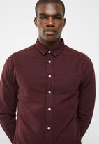 basicthread - Slim Oxford shirt