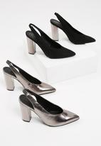 Missguided - Pointed slingback court