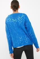 dailyfriday - Pointelle fluffy knit