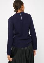 dailyfriday - Zip back chunky knit