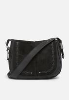 New Look - Western whipstitch saddle bag