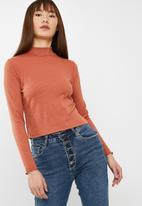 Cotton On - Kylah mock neck long sleeve