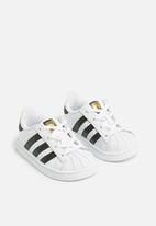 adidas Originals - Kids Superstar I sneakers - white/black