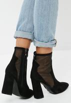 Public Desire - Dallas mesh ankle boot