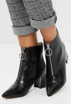 Public Desire - Instinct patent zip boot