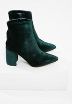 Public Desire - Alpha mid heel ankle boot