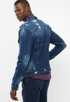 Only & Sons - 110 denim trucker jacket