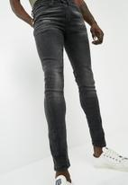 New Look - Washed twisted seam skinny jeans