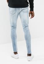 New Look - Tom light rip super skinny jean