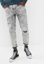 basicthread - Skinny release hem jeans
