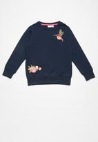name it - Nina embroidered sweat