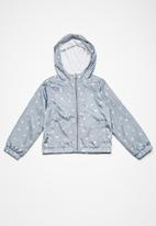 name it - kids star print jacket