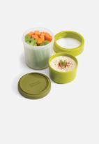 Joseph Joseph - GoEat compact 2-in-1 snack pot