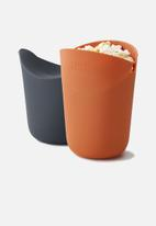 Joseph Joseph - M-cuisine portion popcorn maker set of 2
