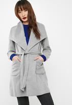 dailyfriday - Melton wrap coat
