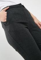 dailyfriday - Check trouser - grey