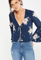 Cotton On - Ella tie blouse
