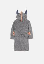 Cotton On - Kids boys hooded gown