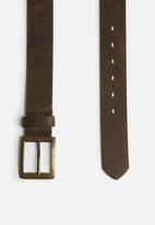 basicthread - Trevor leather belt