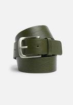 basicthread - Leather belt