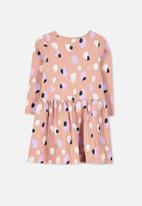 Cotton On - Kids lani long sleeve dress