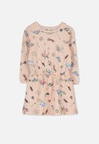Cotton On - Kids scout long sleeve dress