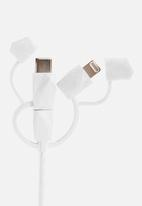 Outdoor Tech - Calamari 2.0 3-in-1 charge cable