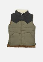 Cotton On - Kids Ruben puffer vest