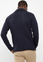 Bellfield - Knitted blazer cardigan