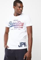 Superdry. - Vintage logo tee