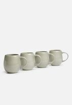Urchin Art - Bubble mug set of 4