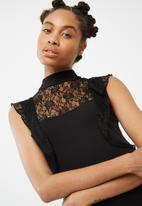 dailyfriday - Lace detail bodycon