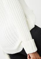 dailyfriday - Funnel neck knit