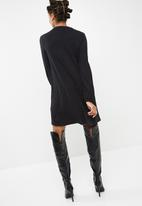 dailyfriday - Longsleeve rib swing dress