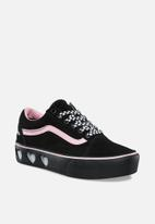 ca2289f3cb0 Old Skool Platform - (Lazy Oaf) black black Vans Sneakers ...
