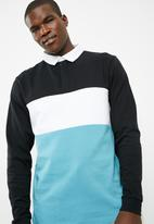 basicthread - Colour blocked rugby jersey