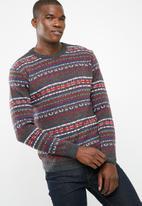 basicthread - Pattern pullover knit