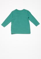 name it - Irlo long sleeve top - green