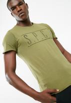 S.P.C.C. - SPCC raw edge tee