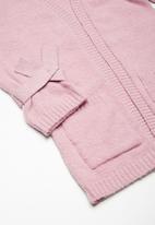 dailyfriday - Kids tie cuff fluffy knit
