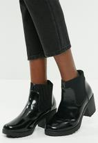 Missguided - High shine chunky chelsea boot