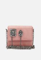 New Look - Embellished micro boxy xbody clutch