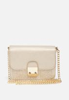 New Look - Grace glitter metallic mini clutch