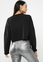 Missguided - Pom pom cropped sweatshirt