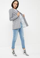 Missguided - Printed longline blazer