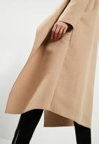 Missguided - Oversized waterfalll duster coat