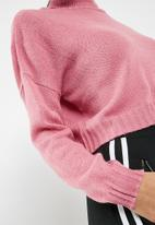 Missguided - Roll neck crop jumper