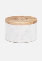 Sixth Floor - Marble salt jar